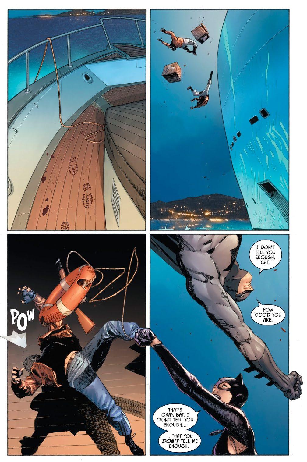 Batman And Catwoman VS Magpie (Rebirth)