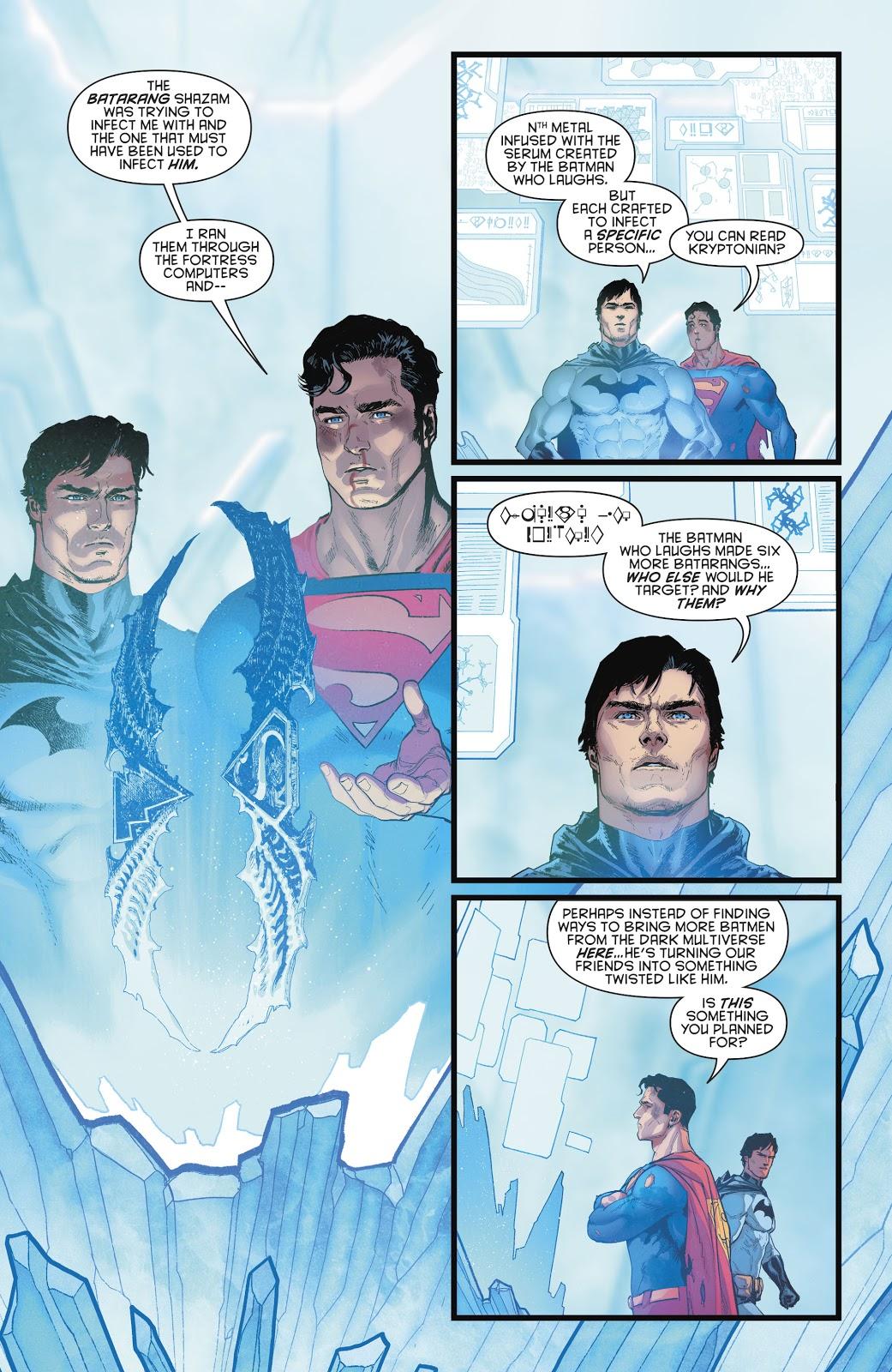 Batman Can Read Kryptonian (Rebirth)