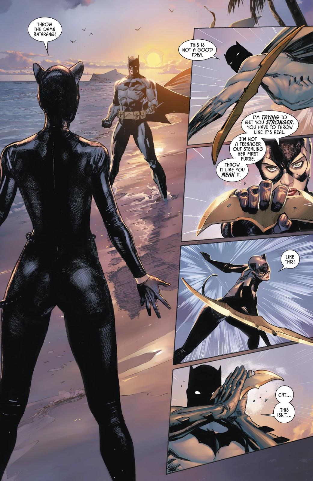 Catwoman Training Batman