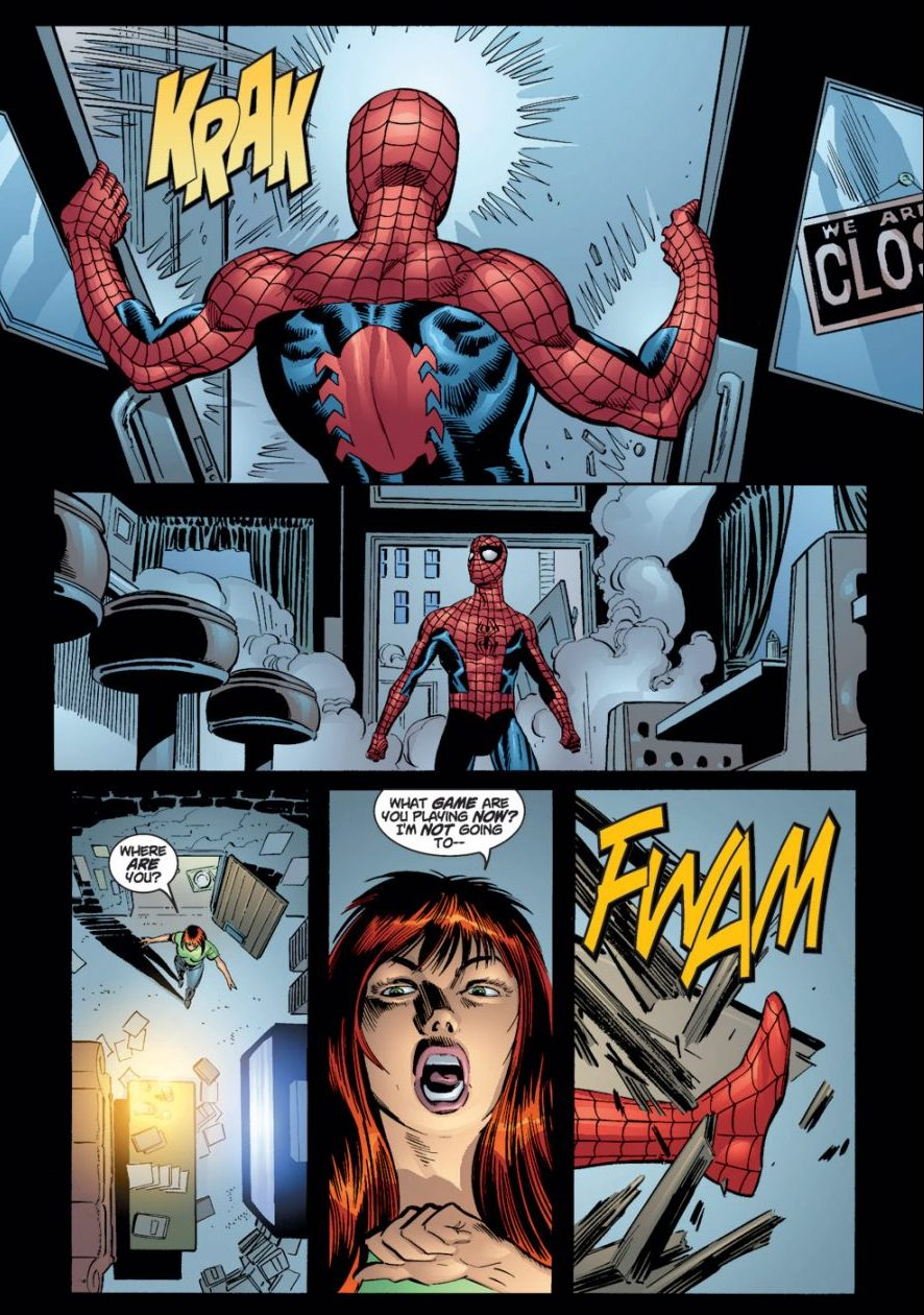 Peter Parker And Mary Jane (The Amazing Spider Man #29)