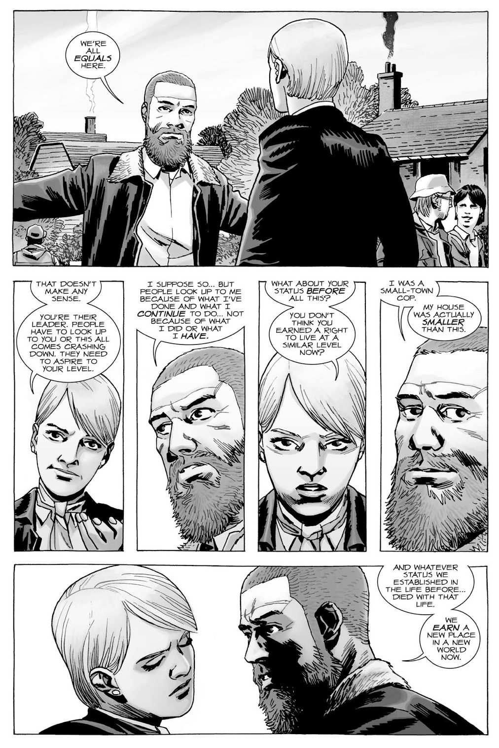 Rick Grimes And Pamela Milton's Different Governing Styles