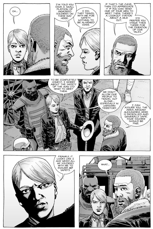 Rick Grimes Meets Governor Pamela Milton (The Walking Dead)