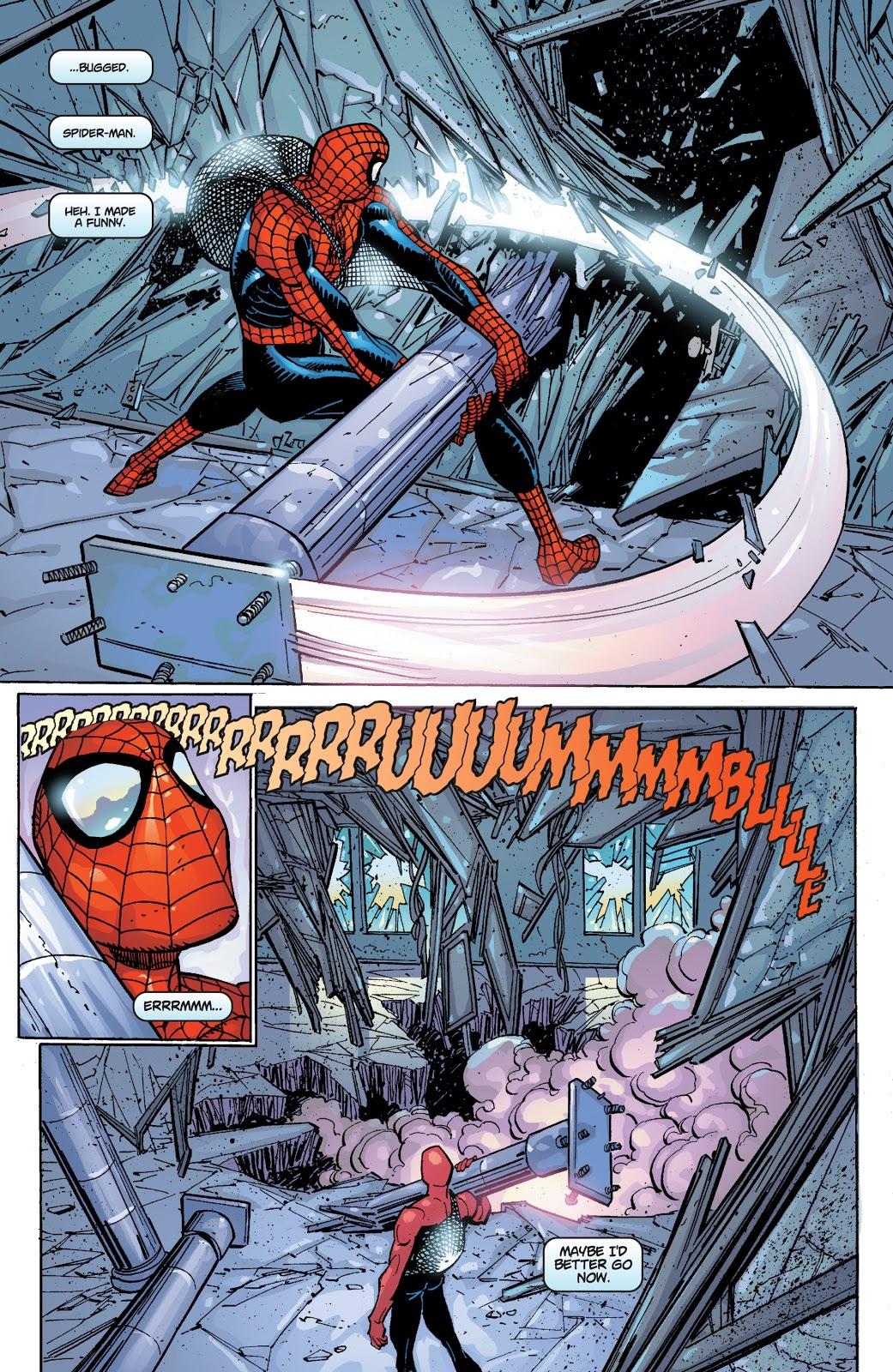 Spider-Man Wrecks A Building