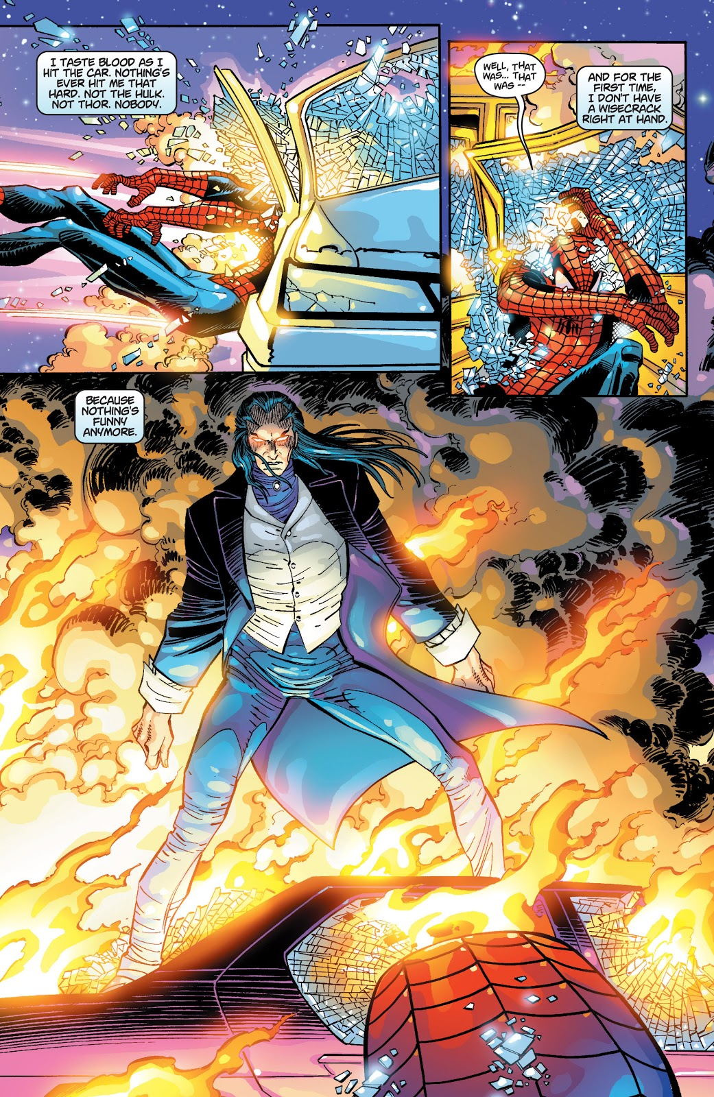 Spider-Man's First Meeting With Morlun