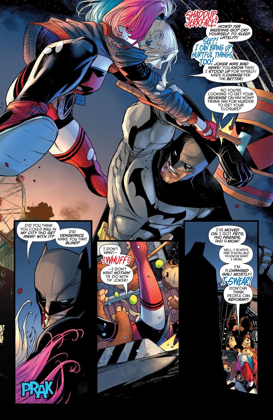 Batman VS Harley Quinn (Harley Quinn Vol 3 #57)