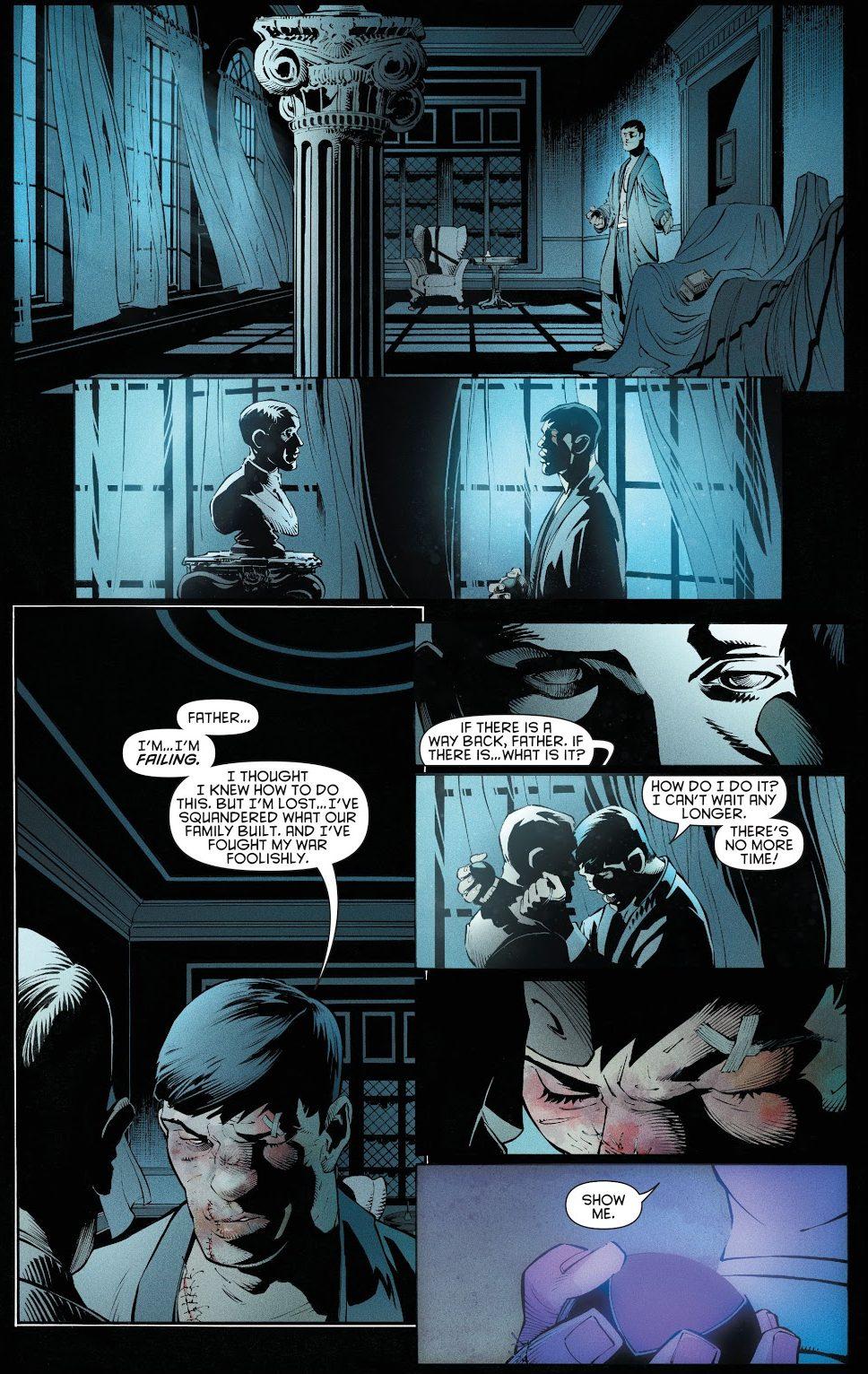 Bruce Wayne Decides To Become Batman (New 52)