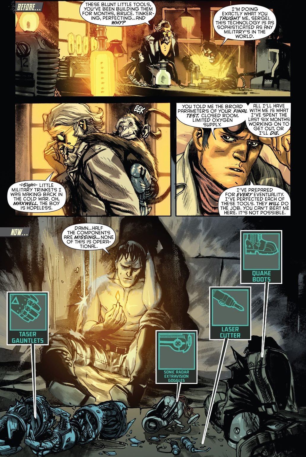 Bruce Wayne Learns How To Think Outside The Box (New 52)