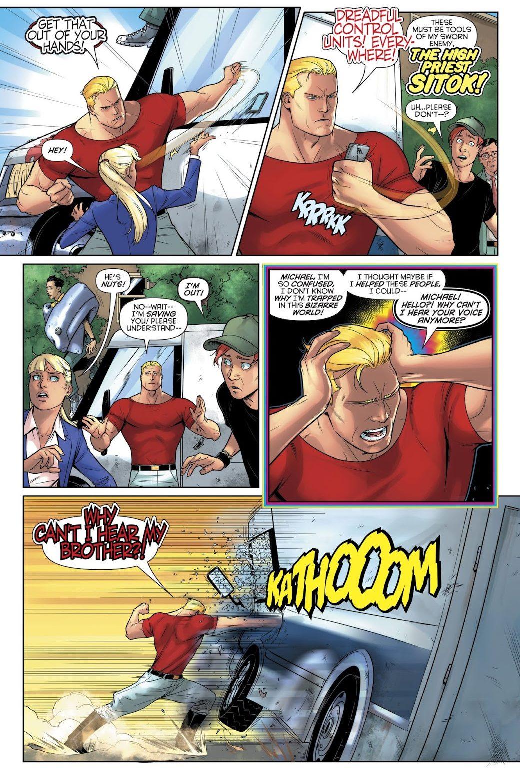 Captain Triumph (Harley Quinn Vol. 3 #51)