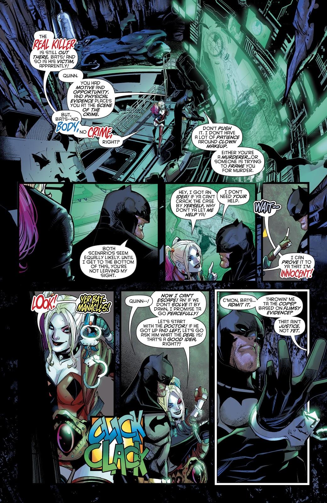 Harley Quinn Inside The Batcave