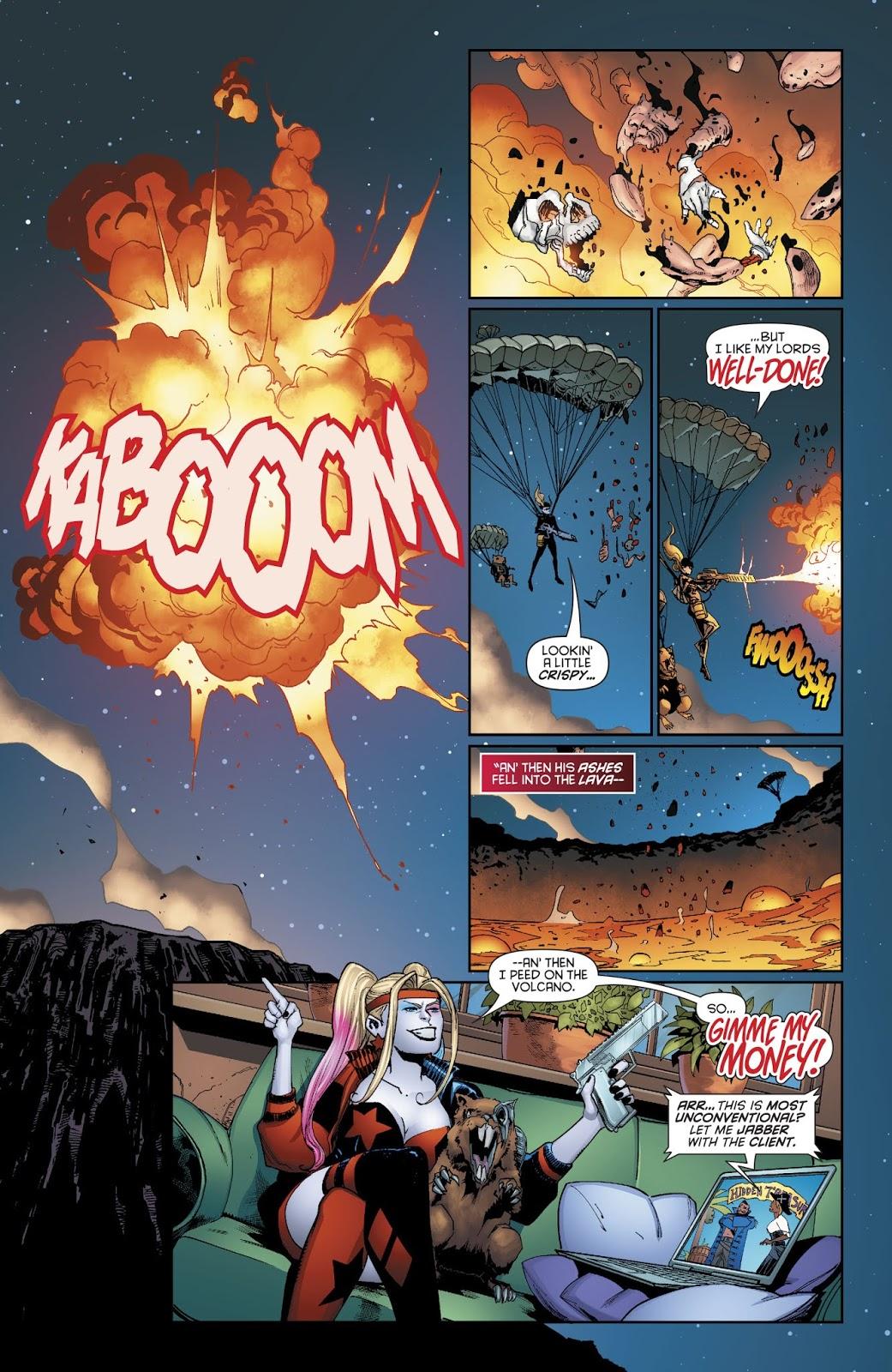 Harley Quinn Tries To Kill Lord Death Man