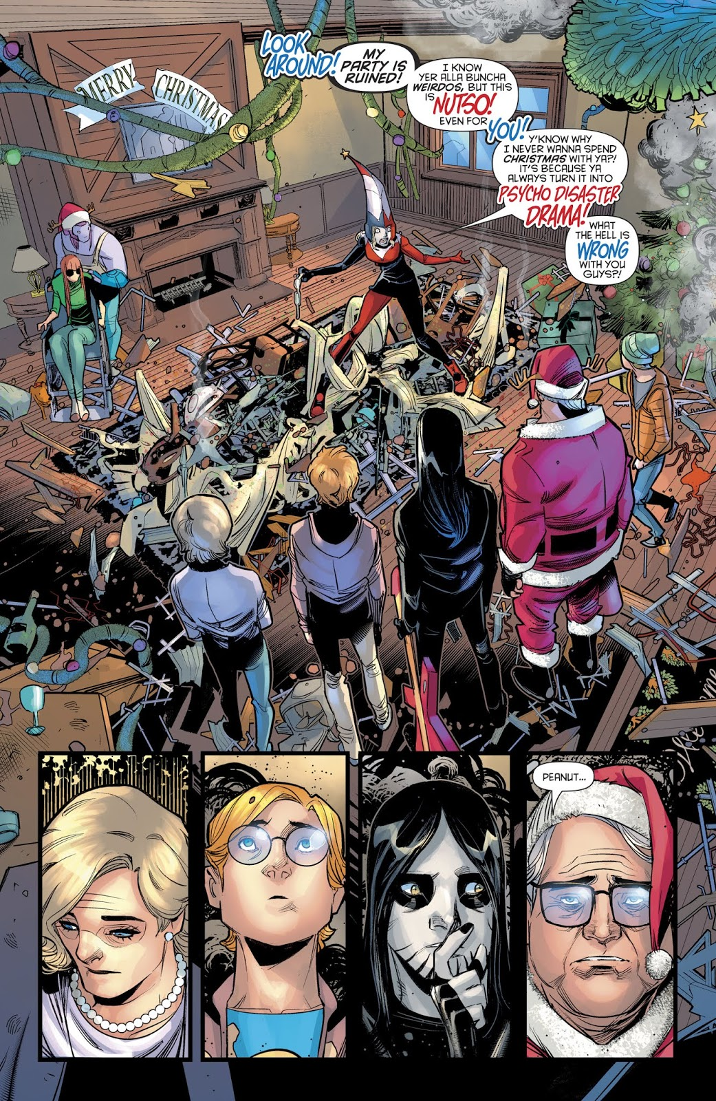 Harley Quinn's Mother Has Cancer