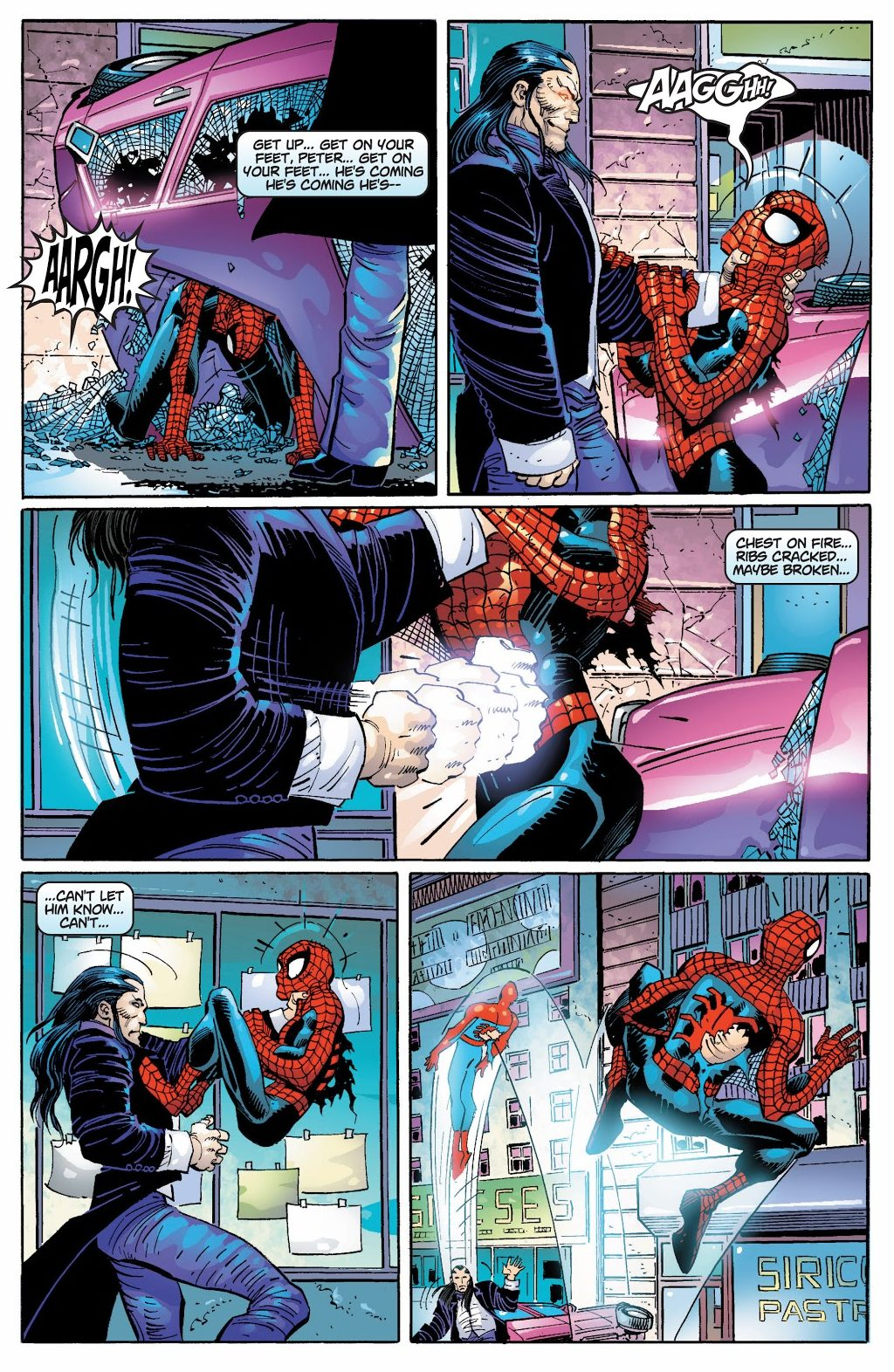 Morlun Nearly Kills Spider-Man