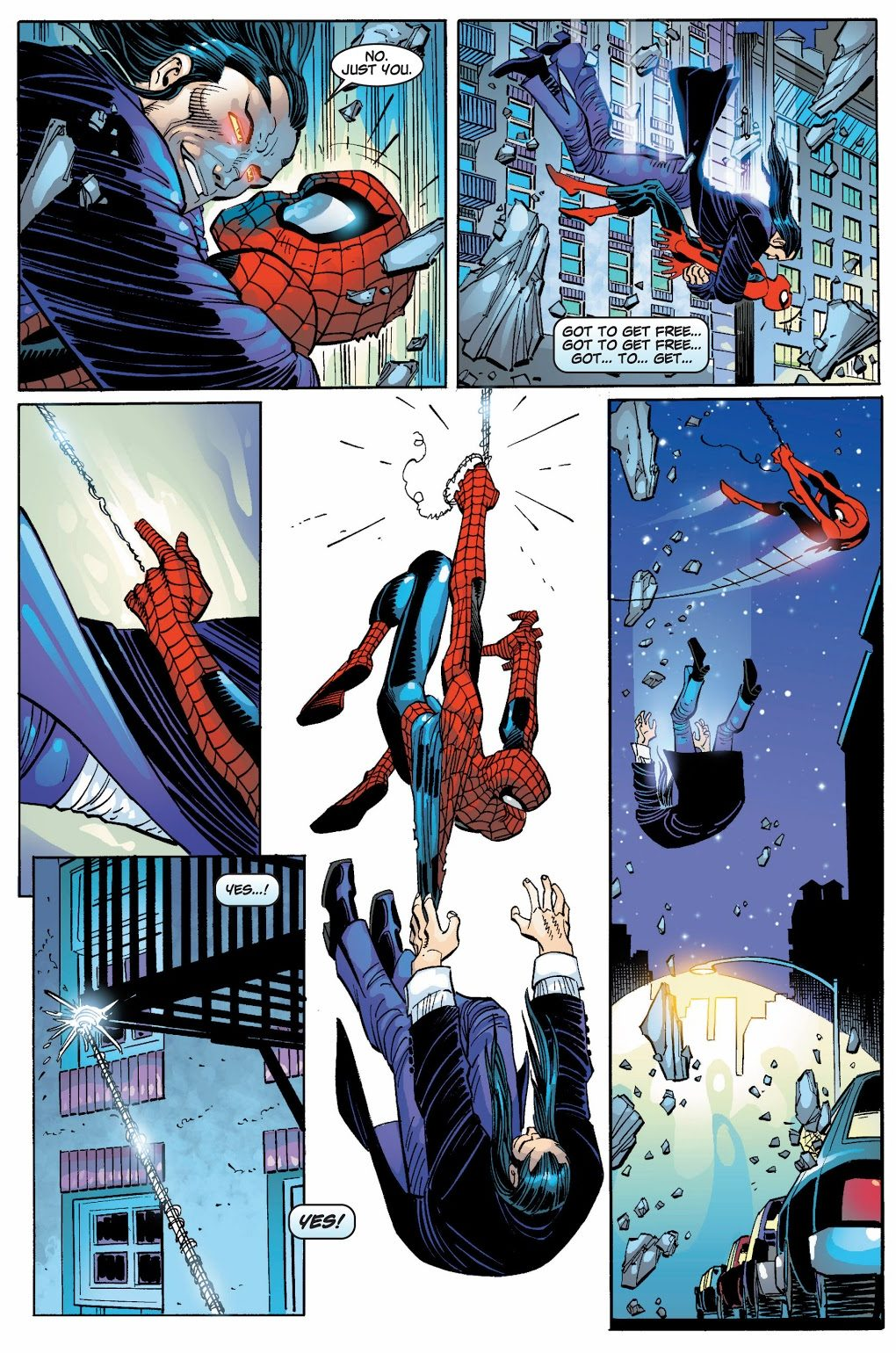 Spider-Man's First Fight With Morlun