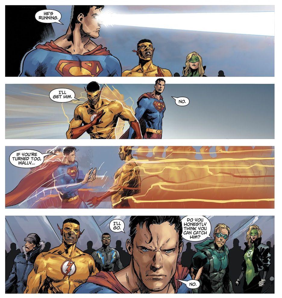 Superman Kills The Flash (DCeased)