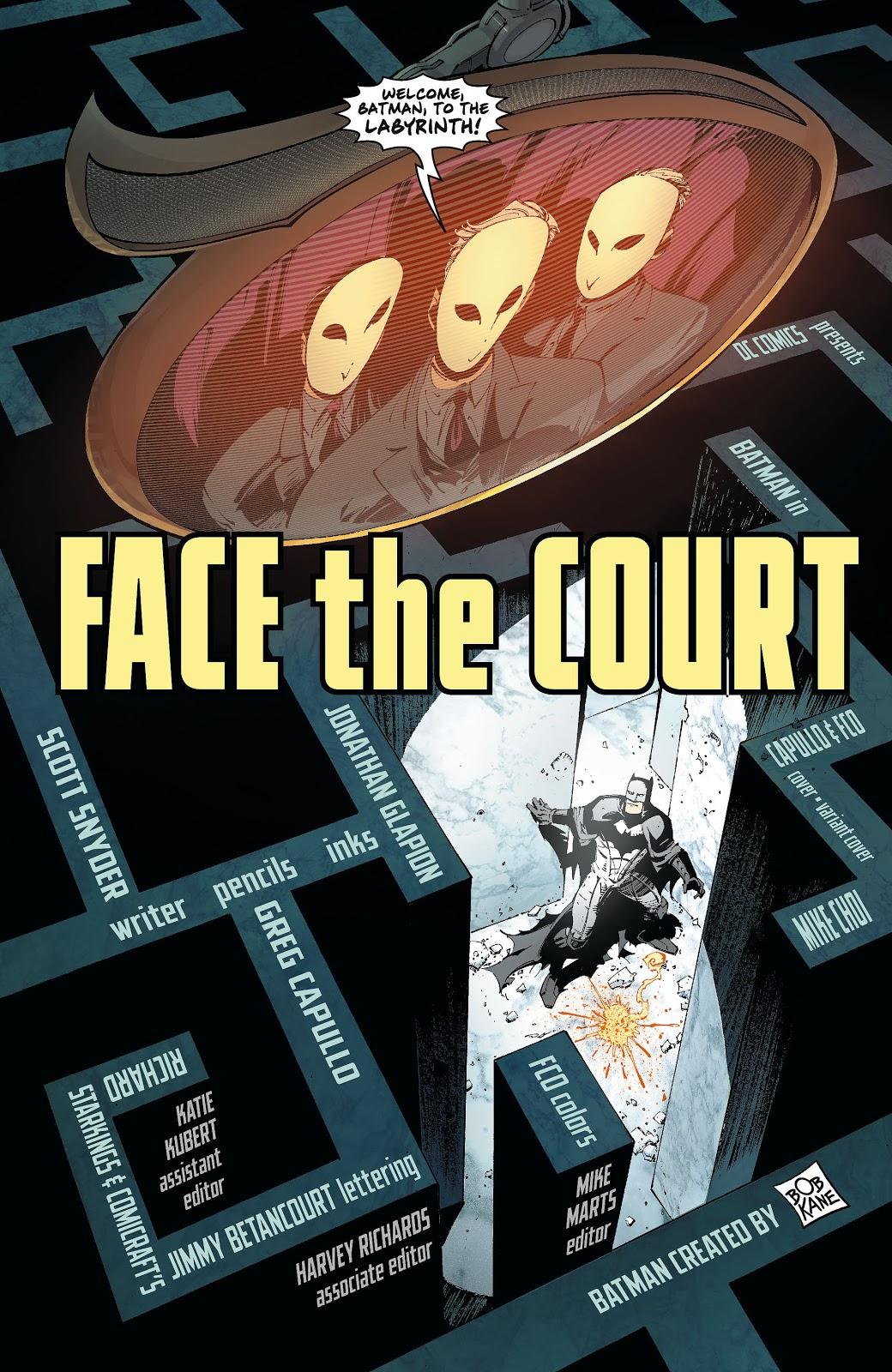 The Court Of Owls (Batman Vol. 2 #4)