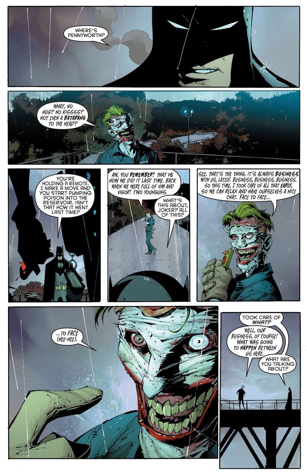 The Joker Knows The Bat Family's Secret Identities