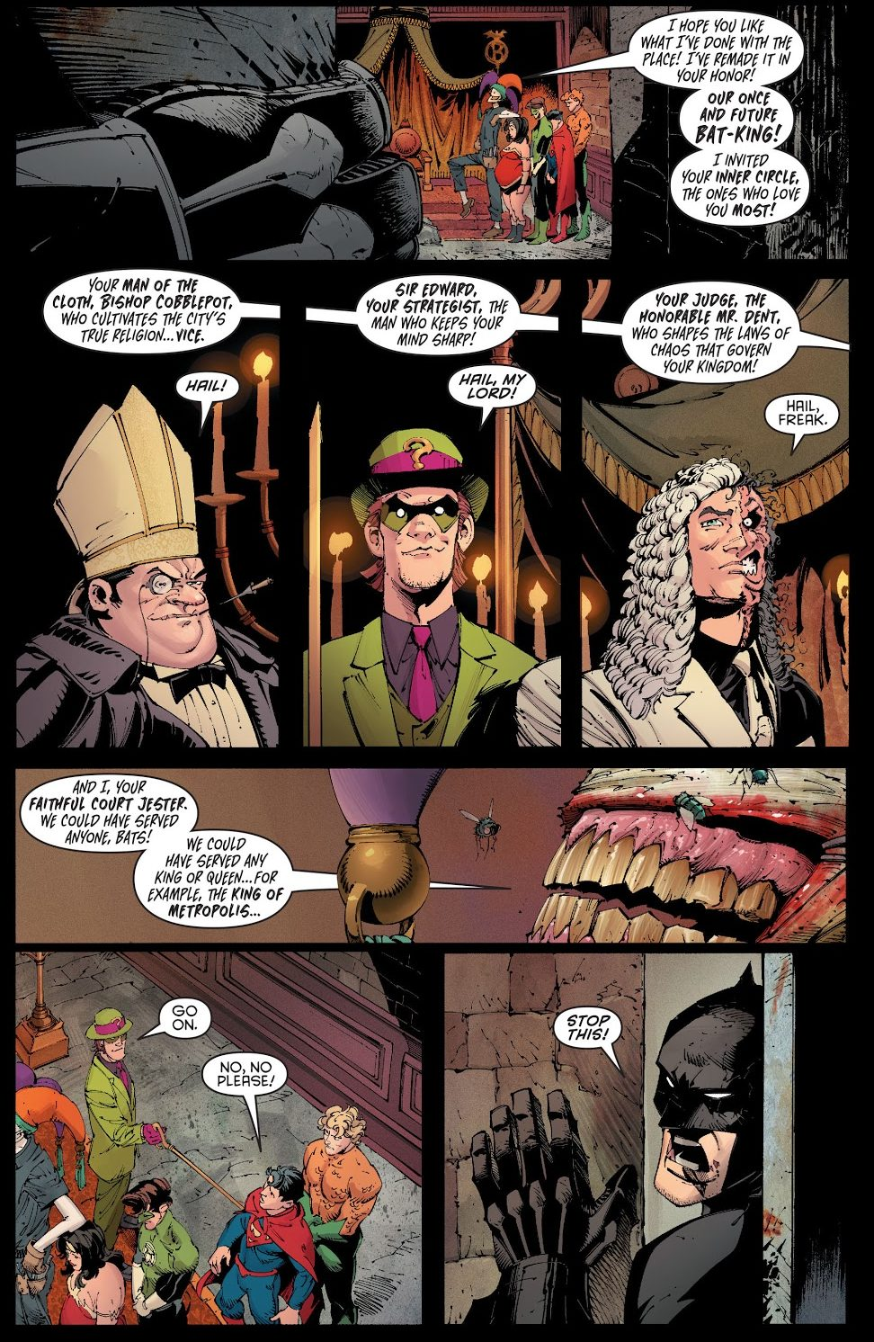 The Joker's Gift To Batman (Death Of The Family)