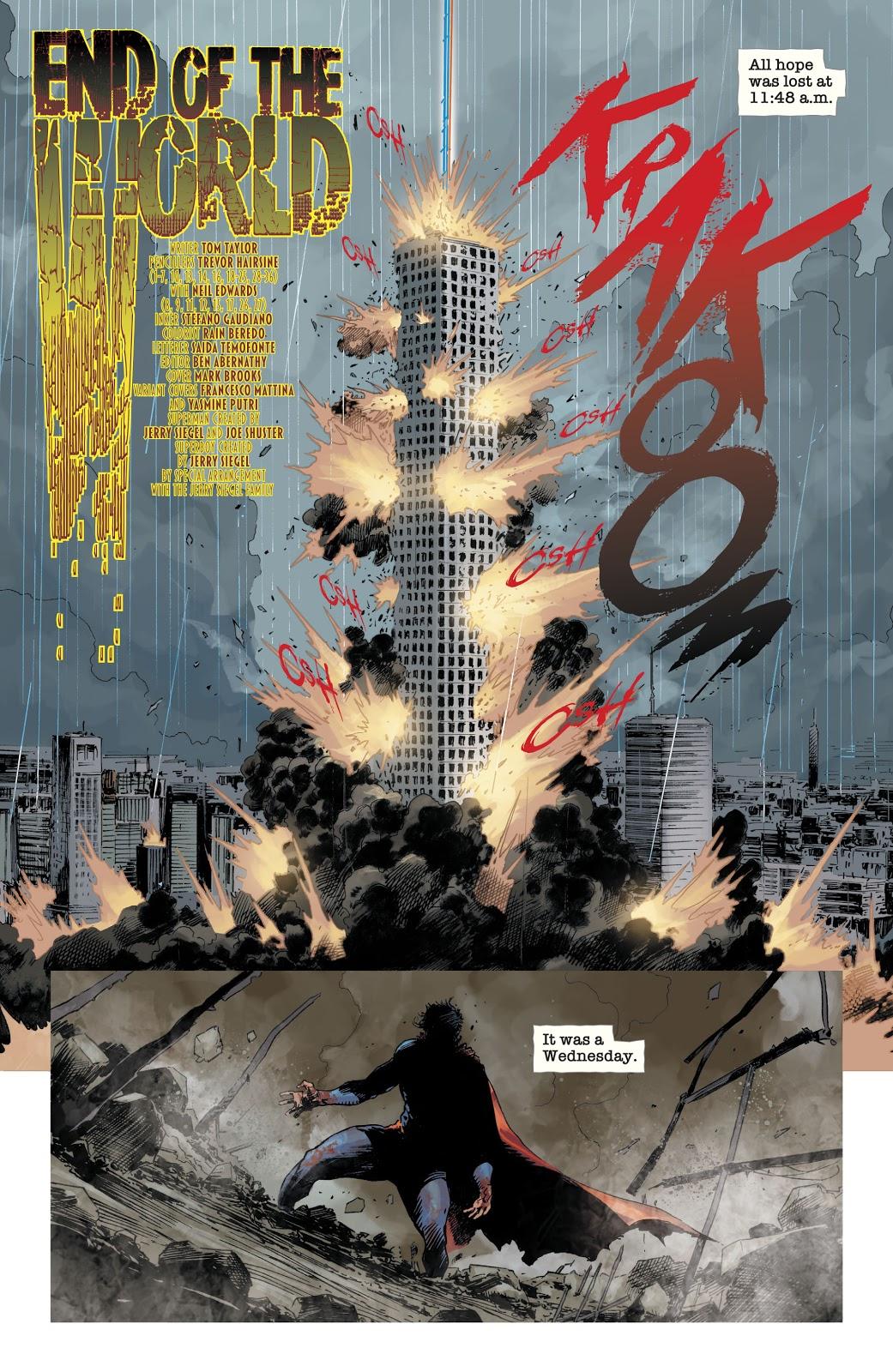 Zombie Superman (DCeased #6)