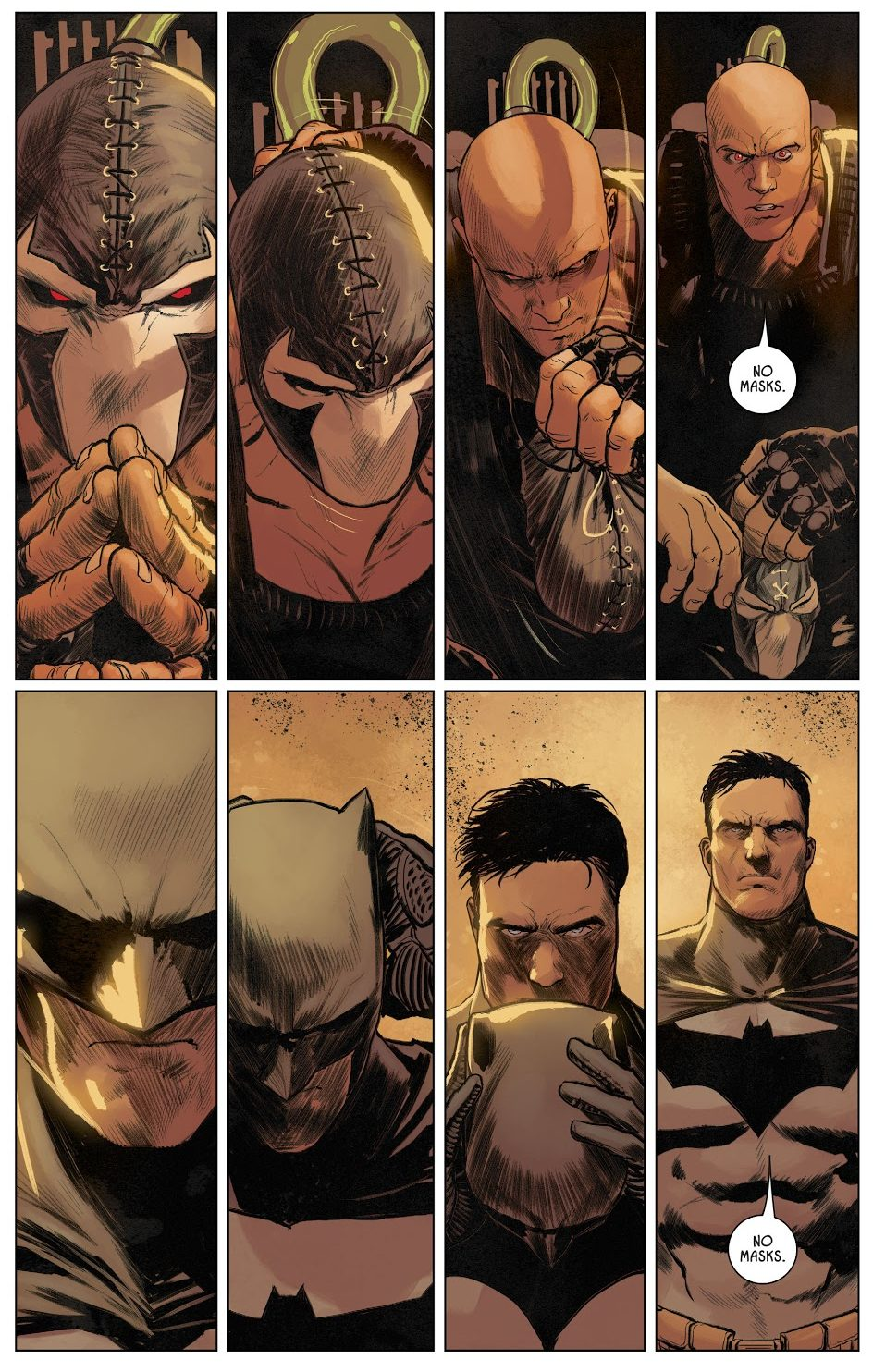 Batman Cheats Against Bane (Rebirth)