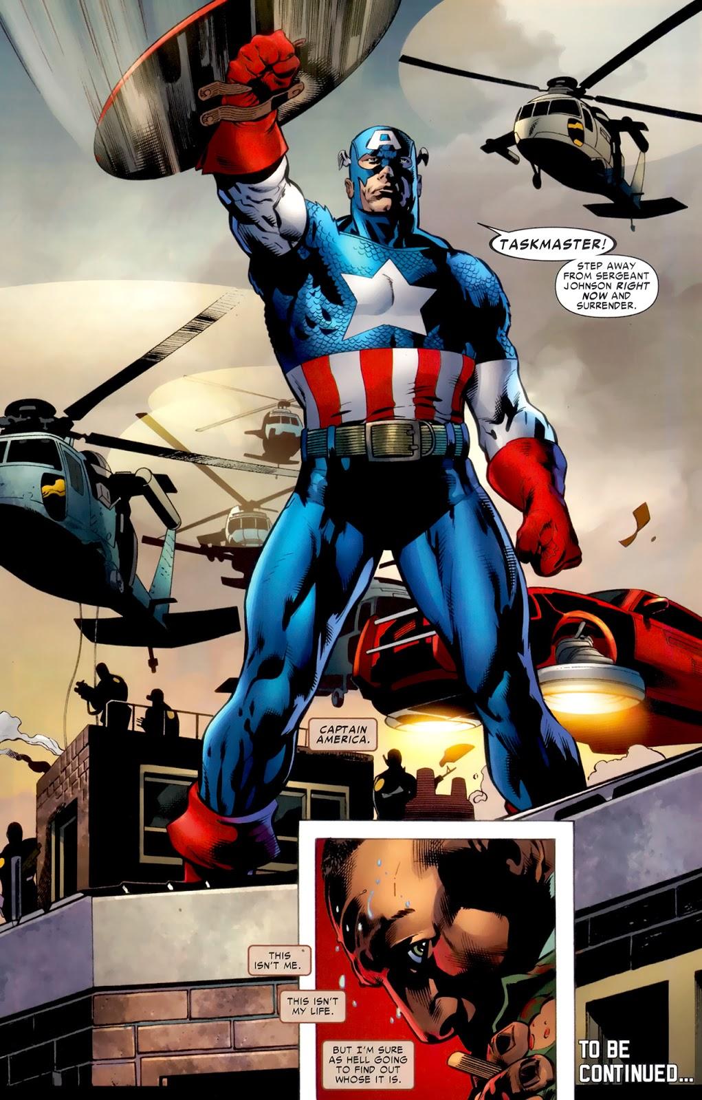 Captain America (Battle Scars #1)