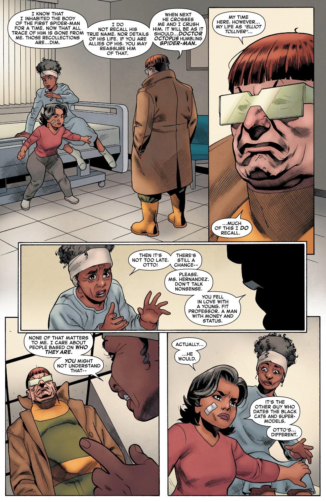 Doctor Octopus Stops Being Superior Spider-Man