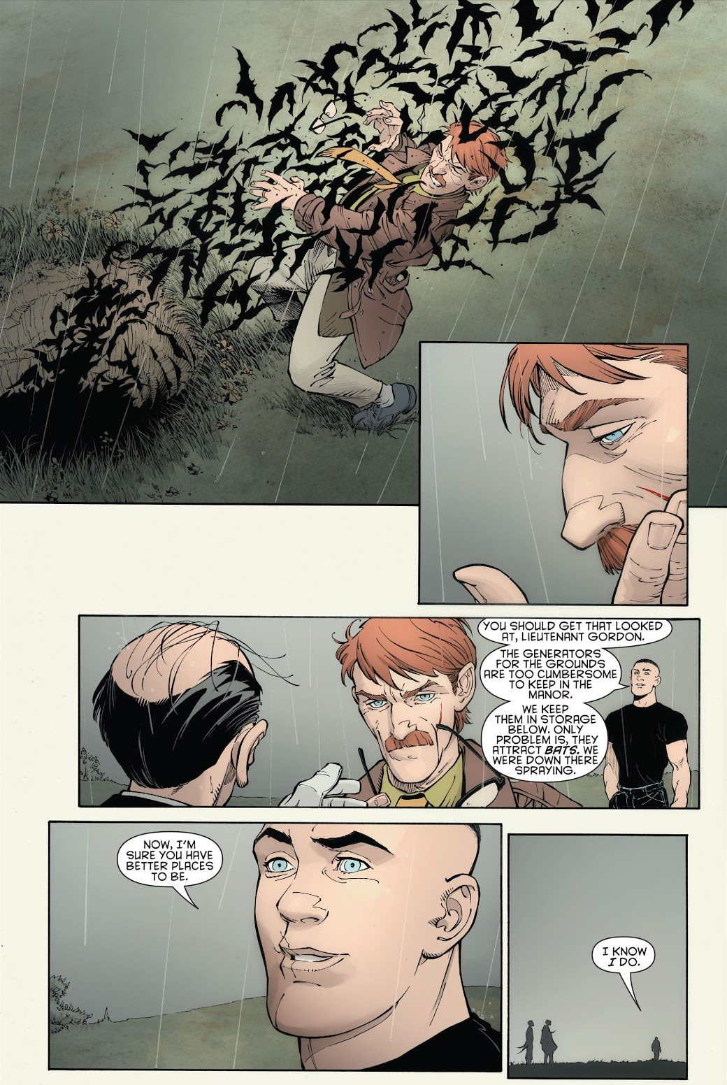 Jim Gordon Almost Discovers The Batcave
