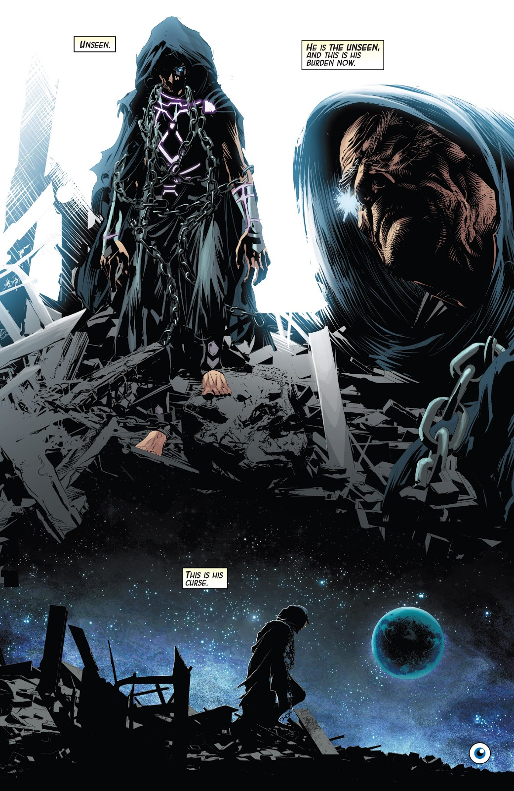 Nick Fury Becomes The Unseen