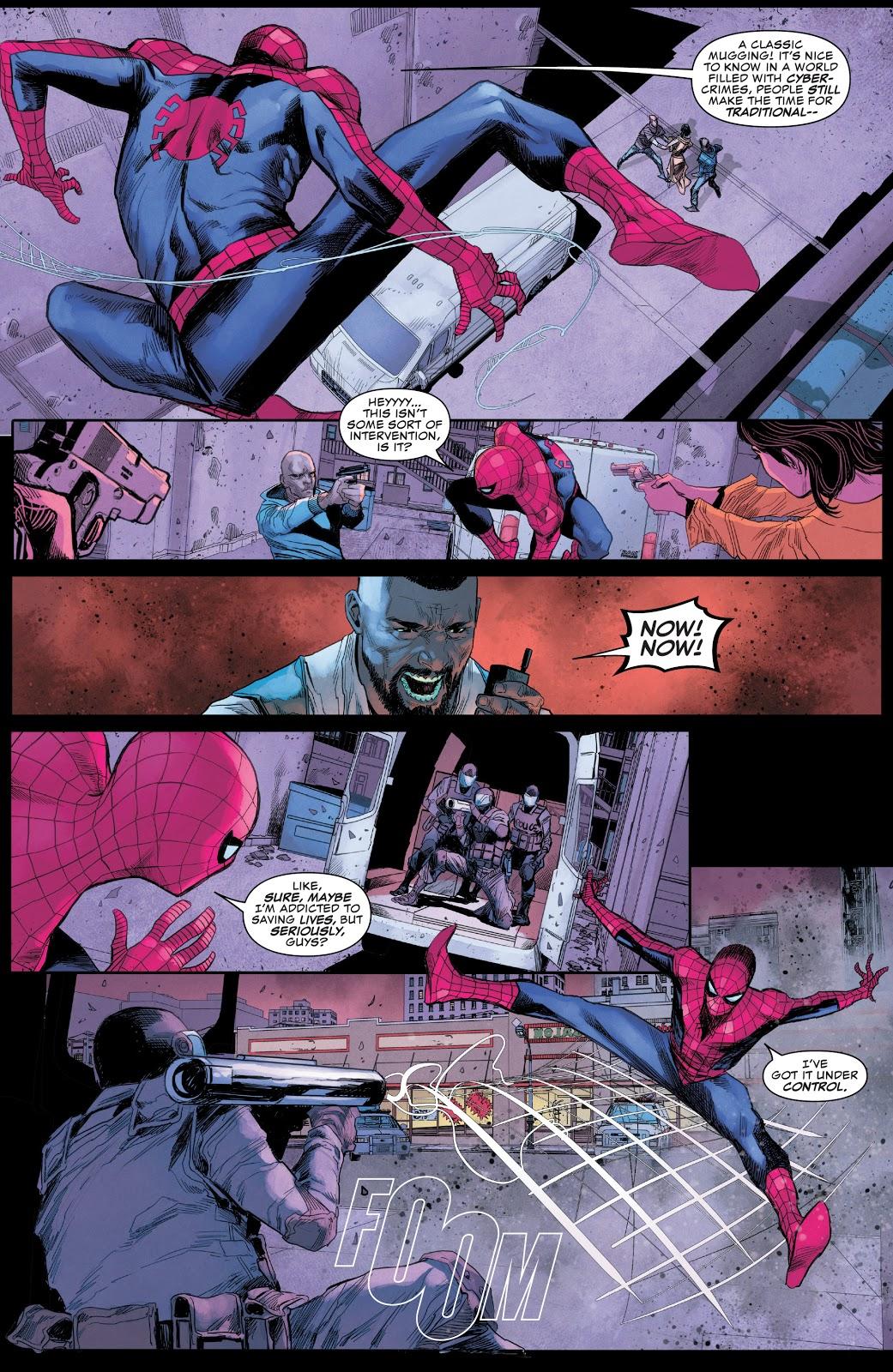NYPD Tries To Arrest Spider-Man (Daredevil Vol. 6 #11)