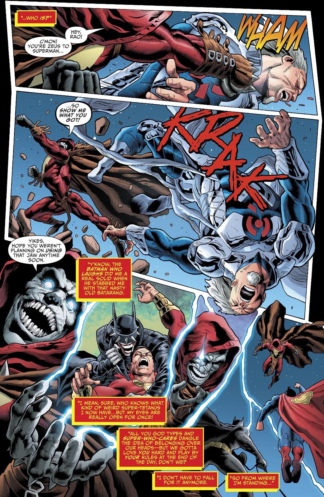 Shazam Who Laughs Beats Up Thor And Rao