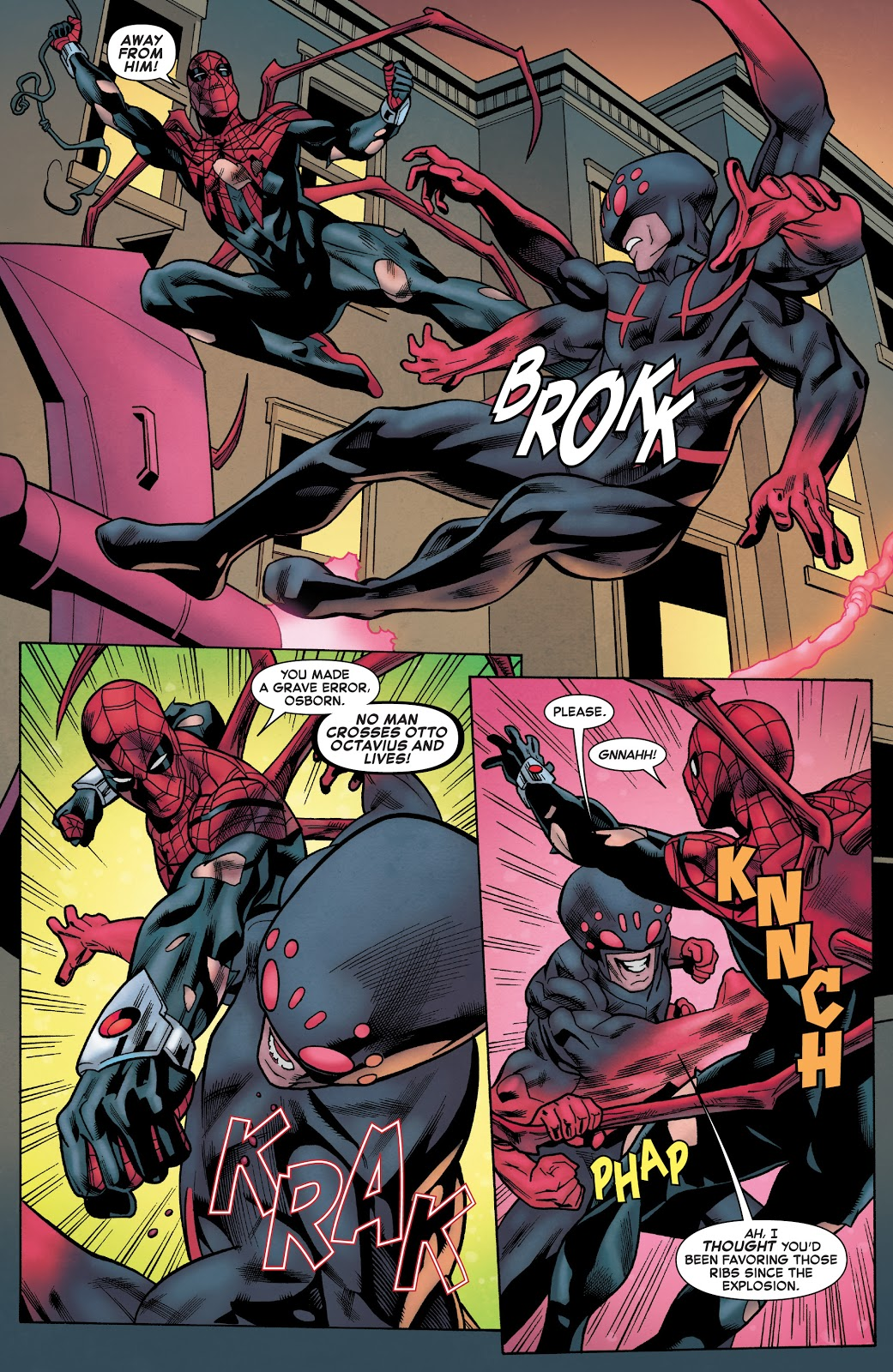 Spider-Man (Norman Osborn) VS Superior Spider-Man