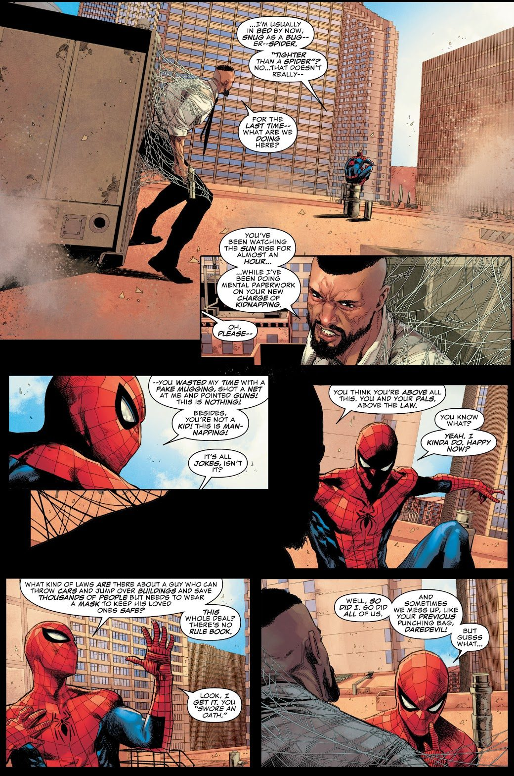 Spider-Man On Why Super Heroes Have To Wear Masks