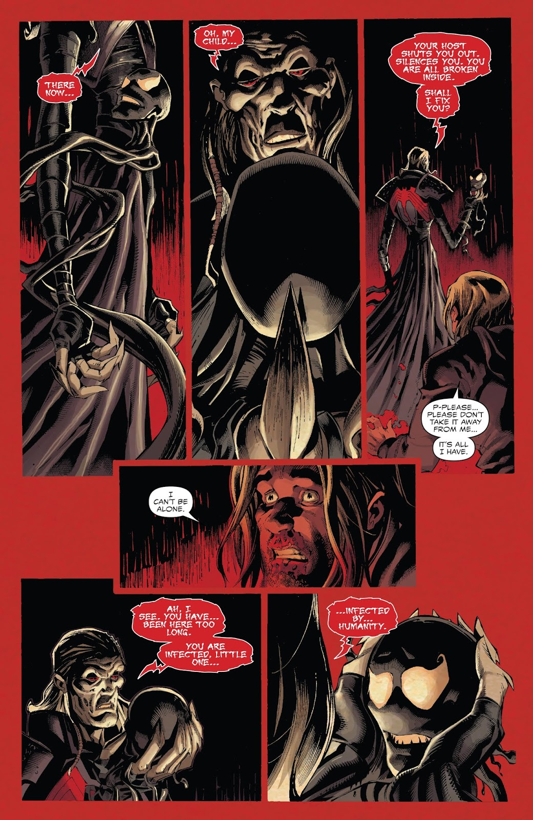Venom's First Meeting With Knull