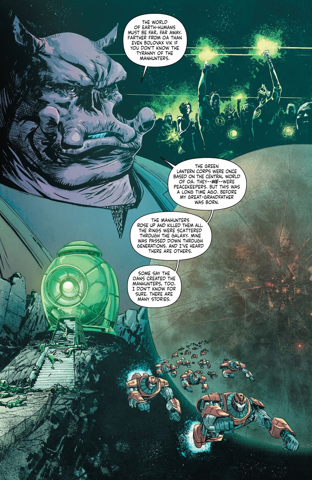 From - Green Lantern: Earth One