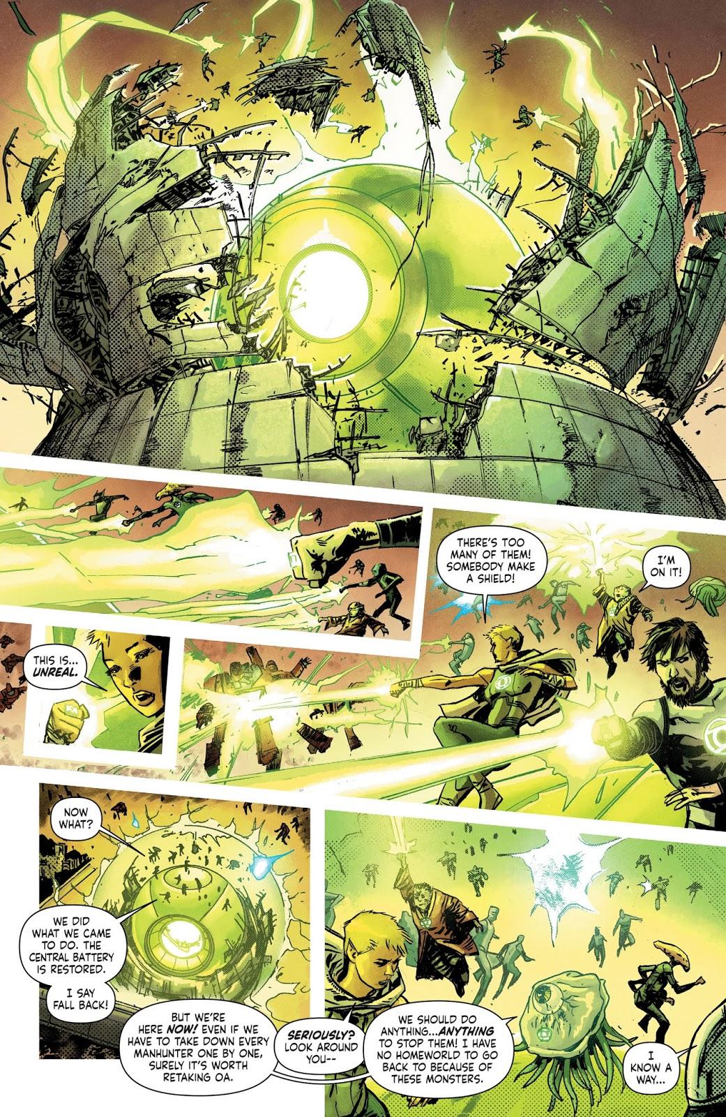 Green-Lantern-Corps-VS-Manhunters-Earth-1