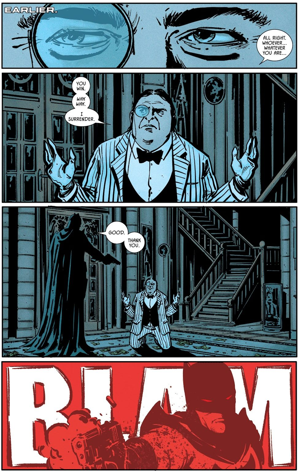 Catwoman Becomes Batman Thomas Wayne's Partner