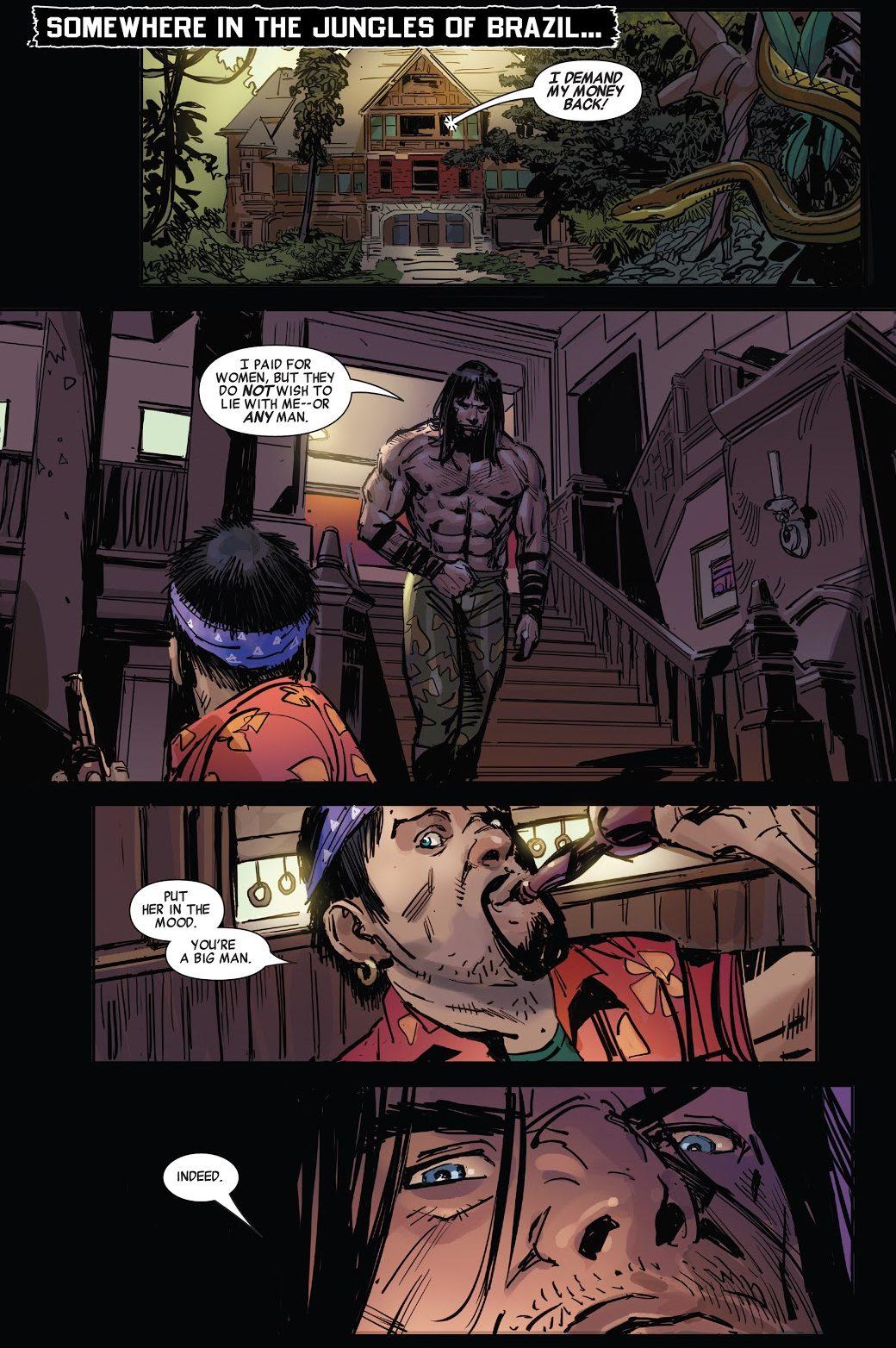 Conan The Barbarian Inside A Brothel