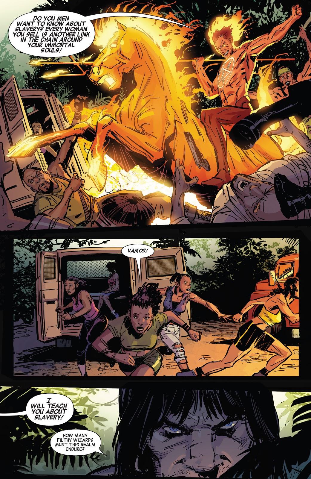 Daimon Hellstrome (Savage Avengers Annual #1)