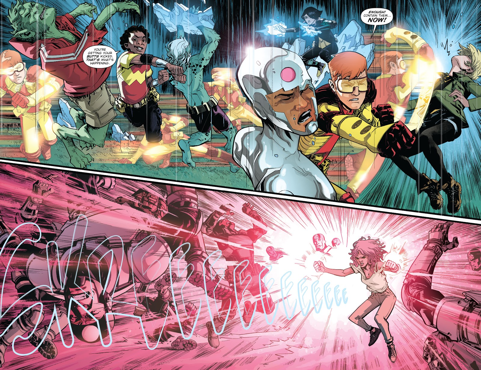 Teen Titans VS Titans (Earth 1)