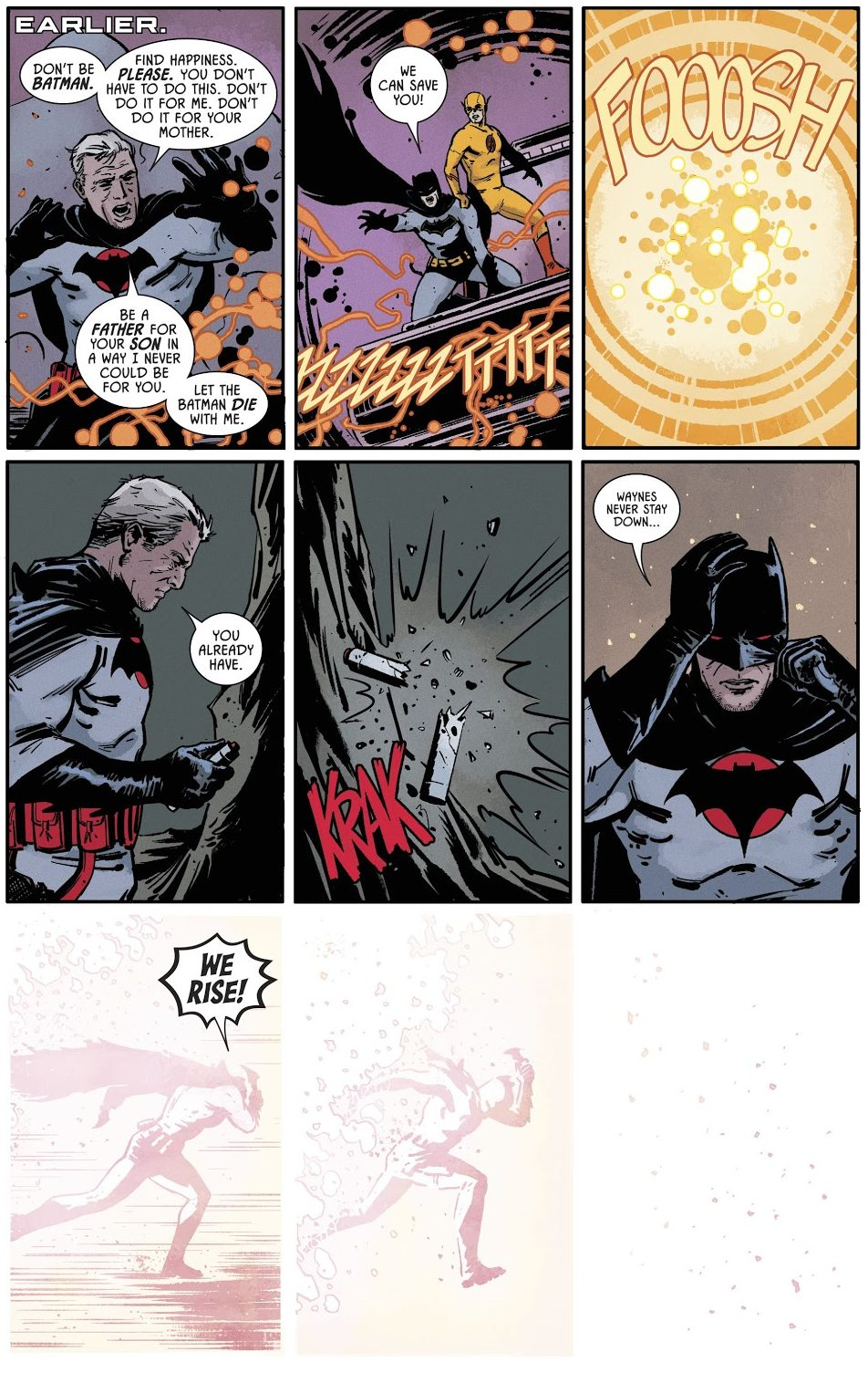 Reverse Flash Saves Batman Thomas Wayne