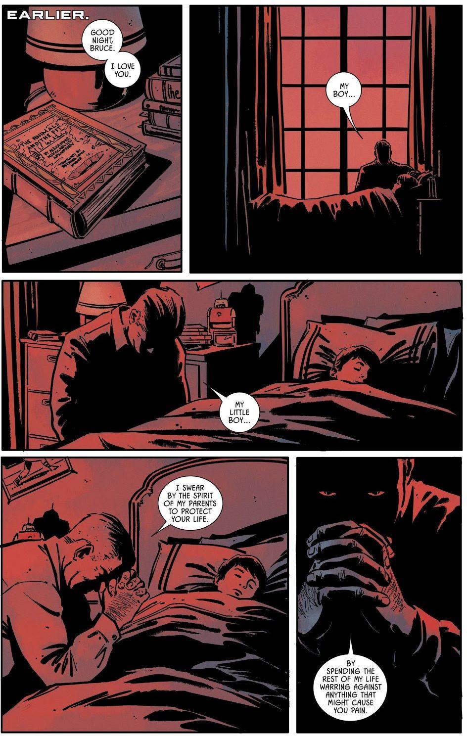 Thomas Wayne Kills Joe Chill