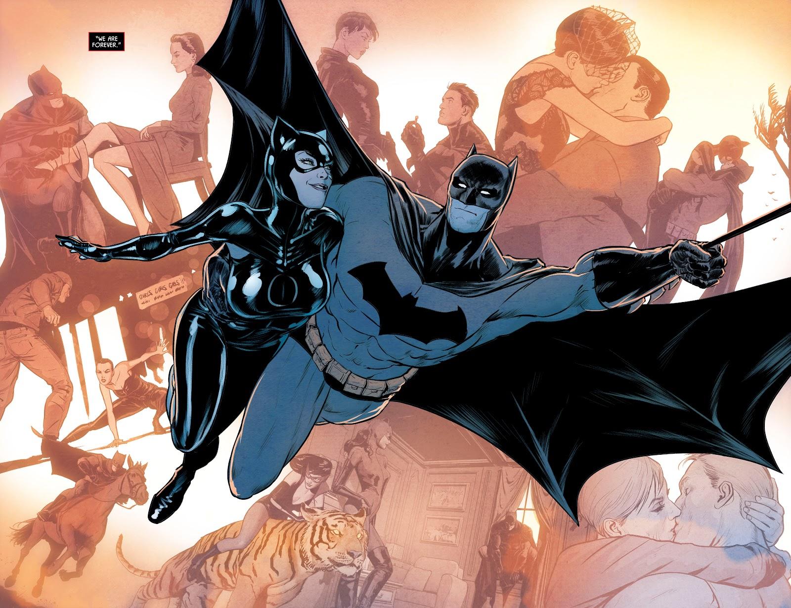Batman And Catwoman (Batman Vol. 3 #85)