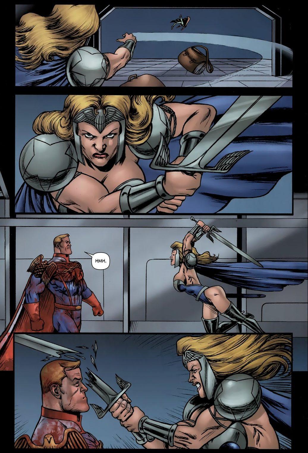 Homelander Kills Queen Maeve