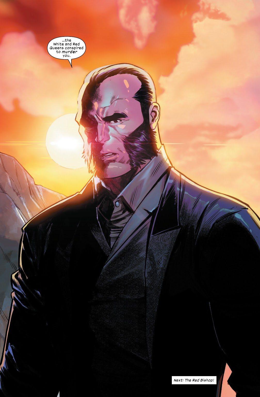 Sebastian Shaw (Marauders #3)