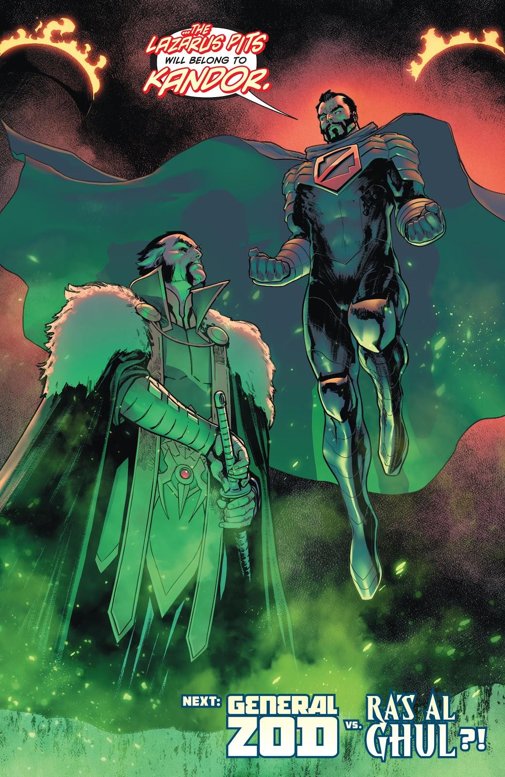 Zod And Ra's Al Ghul (Batman/Superman Vol. 2 #6)