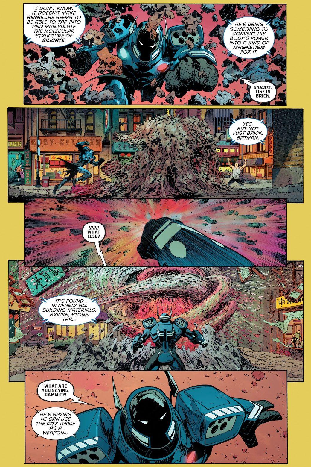 Batman VS Gee Gee Heung