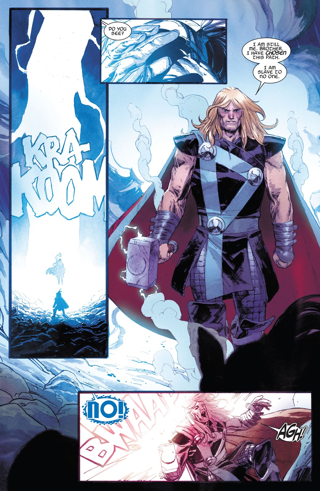 Cosmic-Powered Thor VS Beta Ray Bill