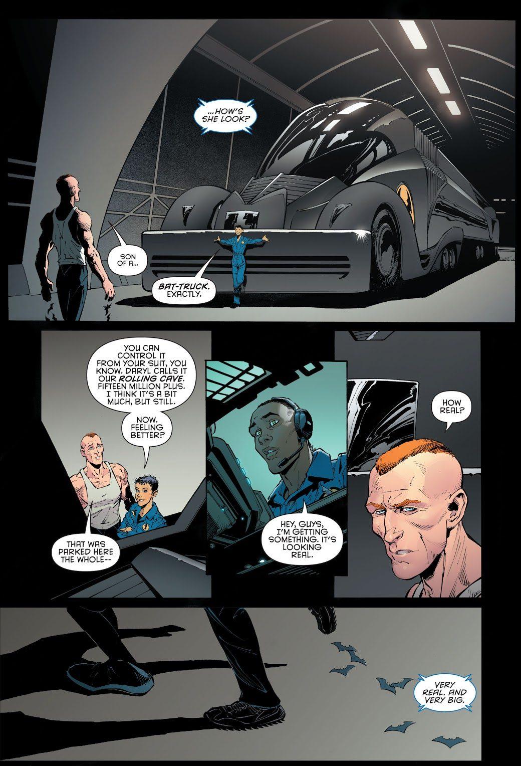 Jim Gordon Batman's Batmobile