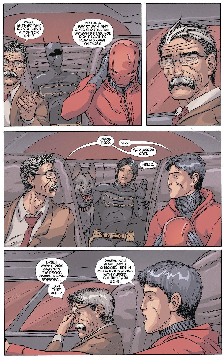 Jim Gordon Knows Who Batman Is (DCeased)