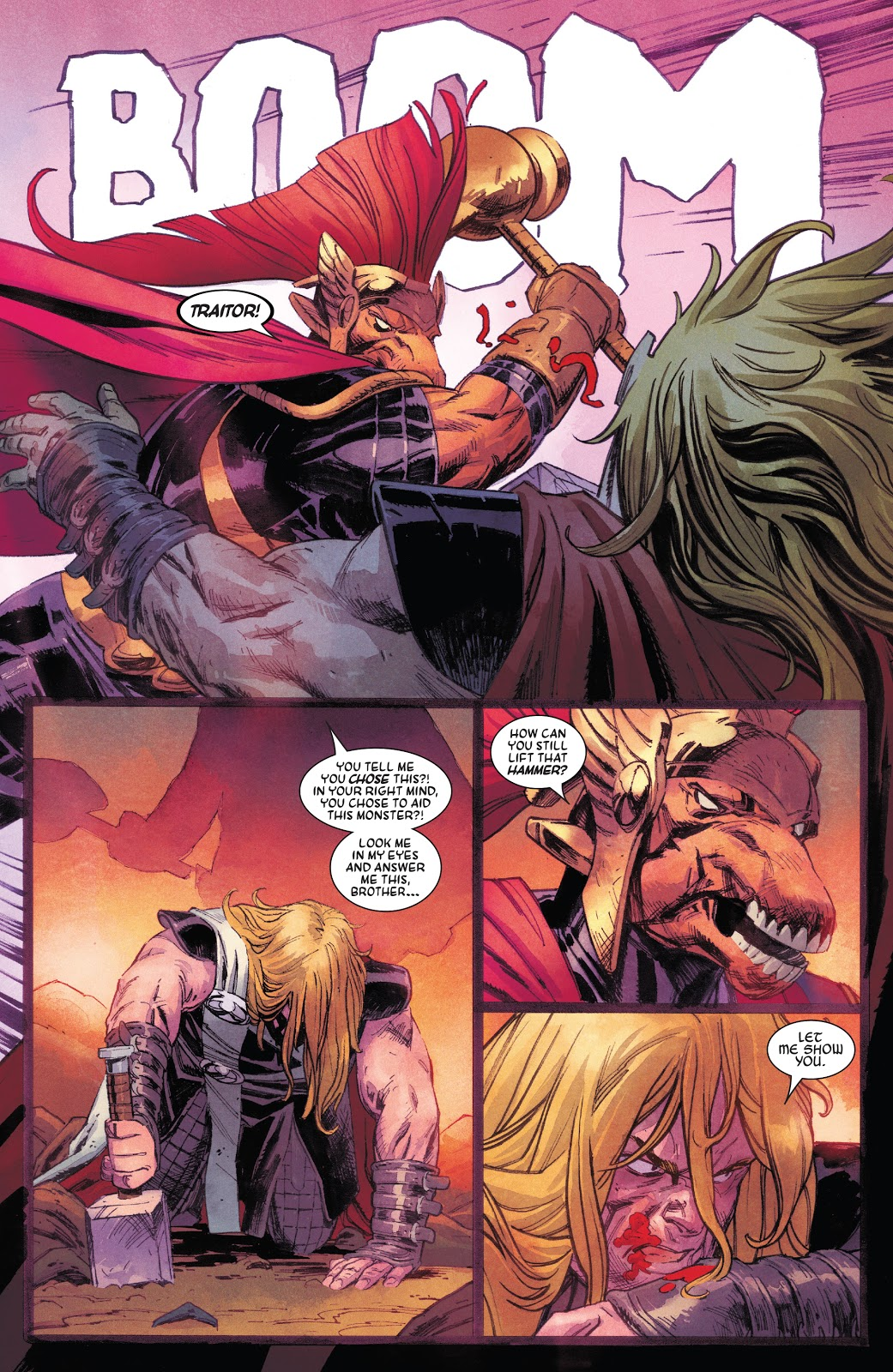 Thor Destroys Stormbreaker