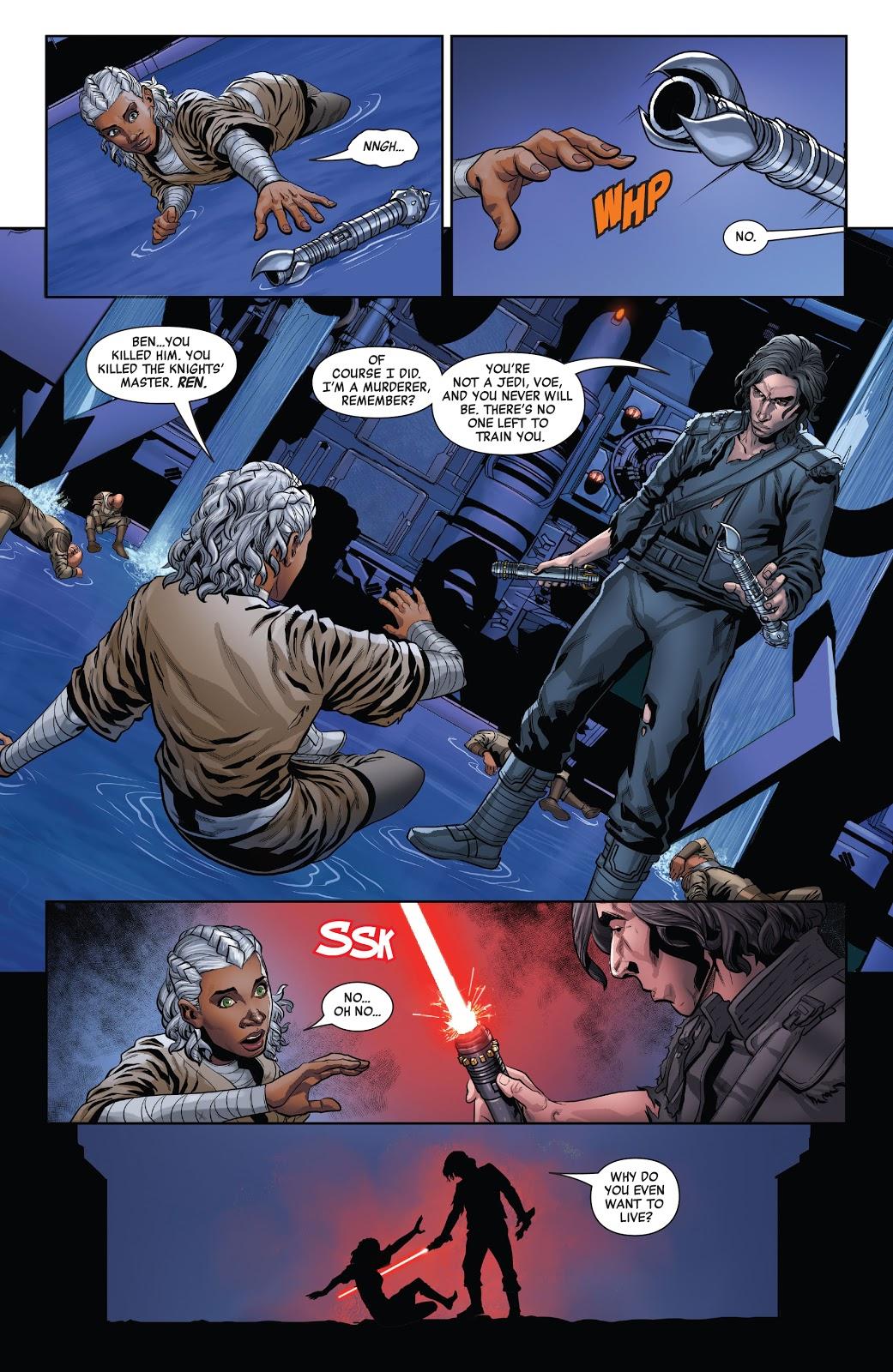 Ben Solo Kills Ren
